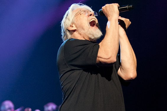 Bob Seger last night at the Scottrade Center. See more: Bob Seger in St. Louis photos. - JON GITCHOFF