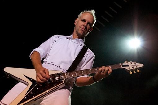 No Doubt guitarist Tom Dumont. Slideshow here. - KENNY WILLIAMSON