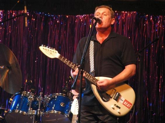 Dave Wakeling of the English Beat at the VooDoo Lounge, July 2008 - ANNIE ZALESKI