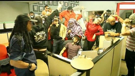 The Harlem Shake, in Indonesia