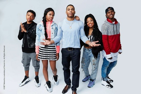 The Saintliest of Lunatics, Nelly, with his family. - VIA BET