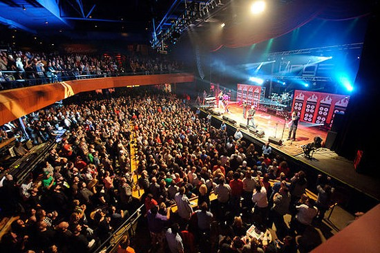 The Urge CD Release Shows will make the Pageant look like this once again - TODD OWYOUNG FOR RFT