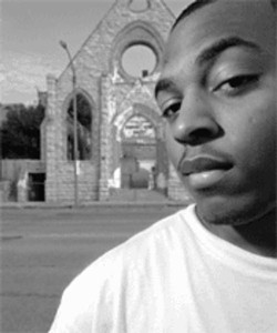 """Flame, photographed as part of 2005's RFT feature story, """"Rap vs. Rapture"""" - JENNIFER SILVERBERG"""