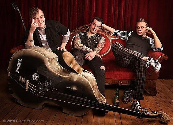 Psychobilly straight out of Motor City, the punktastic Koffin Kats play The Firebird on December 4.