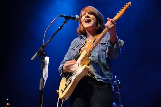 Cailtin Rose opens for the Old 97's at the Pageant - TODD OWYOUNG