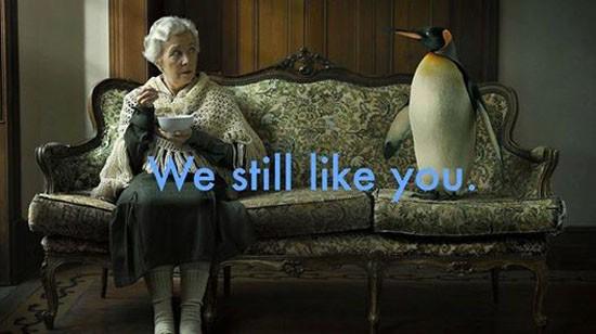 WE STILL LIKE YOU!