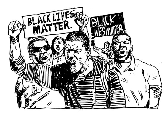 #BlackLivesMatter - ILLUSTRATIONS BY MARK ANDRESEN
