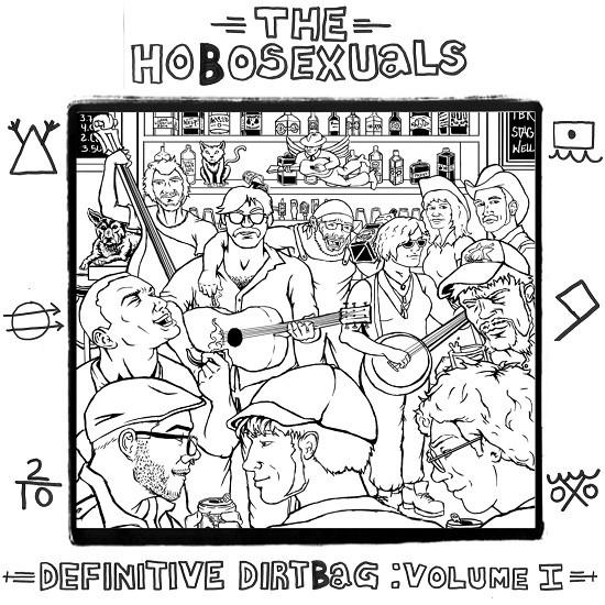 The cover of the new album features several of St. Louis' finest musicians.