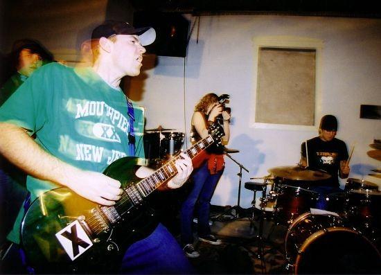 Guitarist John Gierse and drummer Mitch Morris