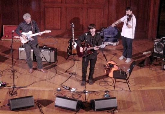 Jay Farrar soundcheck at the Sheldon - SARAH SAMPLES AND THE SHELDON