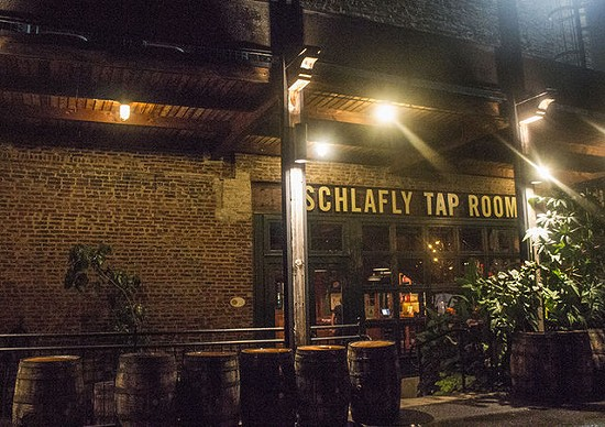 An outside view of the Schlafly Tap Room. - MABEL SUEN