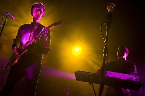 Blonde Redhead at the Pageant - JON GITCHOFF