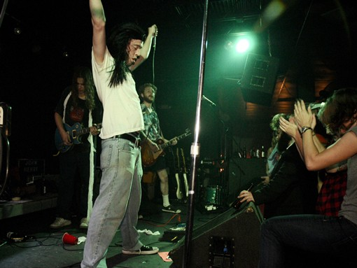 The Monads as Andrew W.K. See more photos from last night's show. - PHOTO: EGAN O'KEEFE