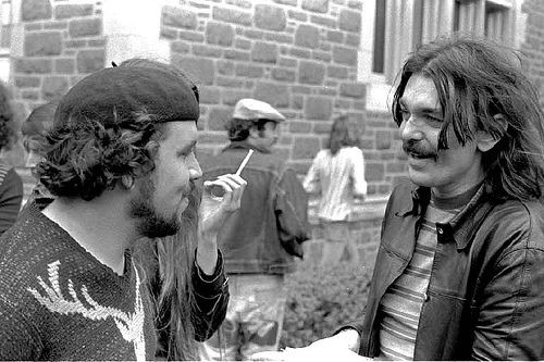 "Captain Beefheart and Tom ""Papa"" Ray - FRANK XAVIER WEYERICH"