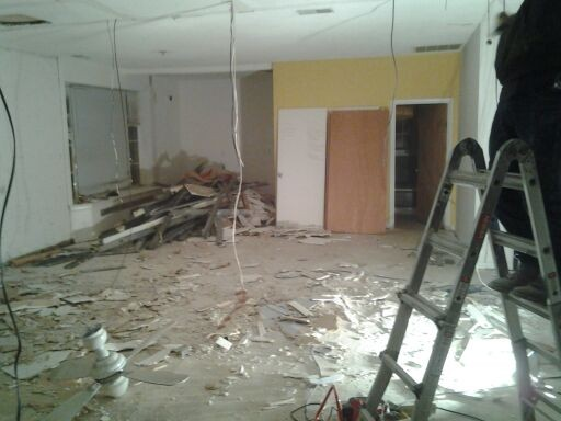 Native Sound space prior to renovation - PHOTO COURTESY OF DAVID BEEMAN