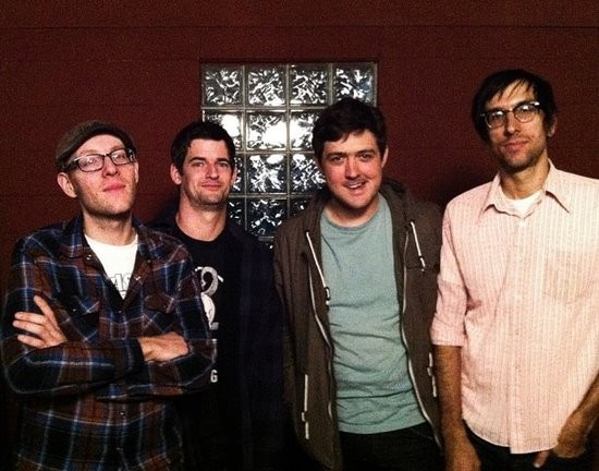 The new look Blind Eyes (ha!), with new guitarist Andy White (second from left). - COURTESY OF THE BLIND EYES