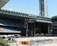 AC/DC's huge outdoor stage. Is this who's coming? We'll find out Monday. - ADAM.J.W.C./WIKIMEDIA COMMONS