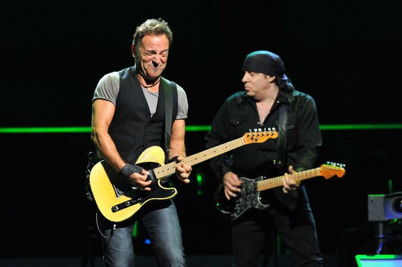 PHOTO BY MARK GILLILAND. FULL SLIDESHOW: BRUCE SPRINGSTEEN AT THE SCOTTRADE CENTER, 10/25/09