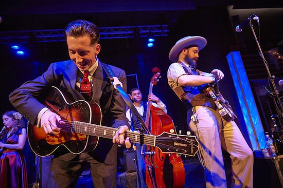 Pokey Lafarge performs at the Taste of St. louis this weekend. - STEVE TRUESDELL FOR RFT