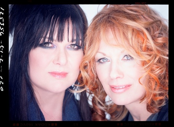 Ann and Nancy Wilson, the lovely ladies of Heart - VIRB.COM