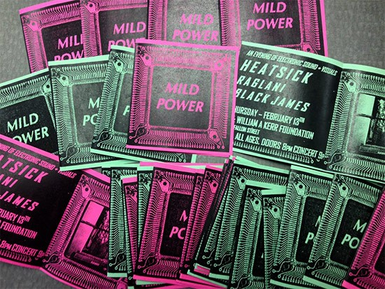 Mild Power is a new experimental show series in St. Louis. - COURTESY OF JEREMY KANNAPELL