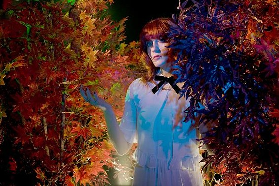 Florence Welch, namesake of Florence + the Machine