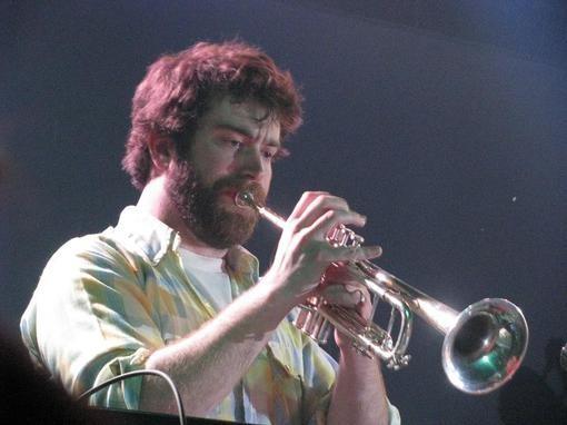 Keyboardist/horn player Patrick Newbery - ANNIE ZALESKI