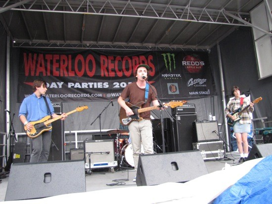 Twerps at Waterloo Records - DANA PLONKA