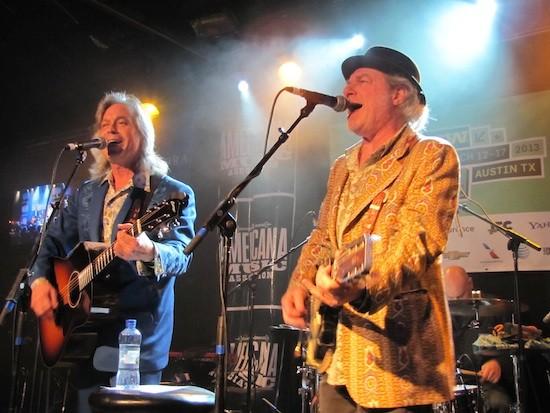 Jim Lauderdale and Buddy Miller at SXSW - DANA PLONKA