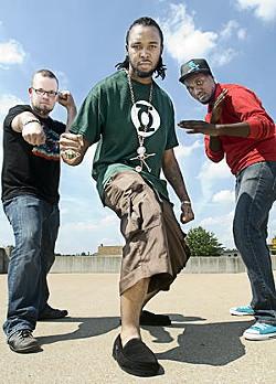 Benjamin Sawyer, DJ Champ, and Tef Poe kick ass and create comics - JENNIFER SILVERBERG