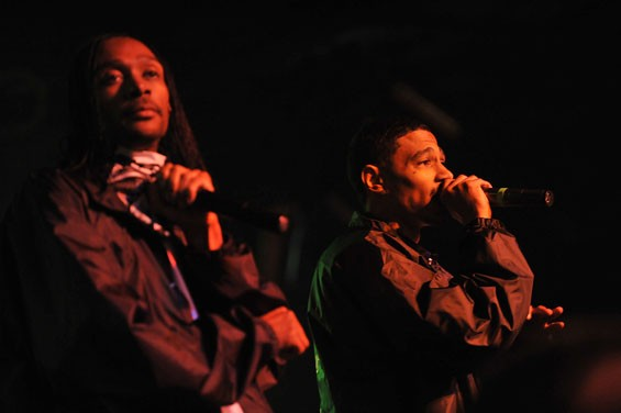 Bone Thugs-n-Harmony last night at Pop's in Sauget, Illinois. See full slideshow here. - PHOTO: NICK SCHNELLE