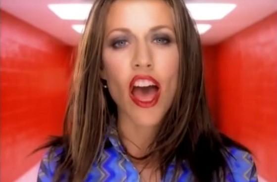 Cheryl Kro Sheryl Crow - SCREENSHOT FROM THE VIDEO.