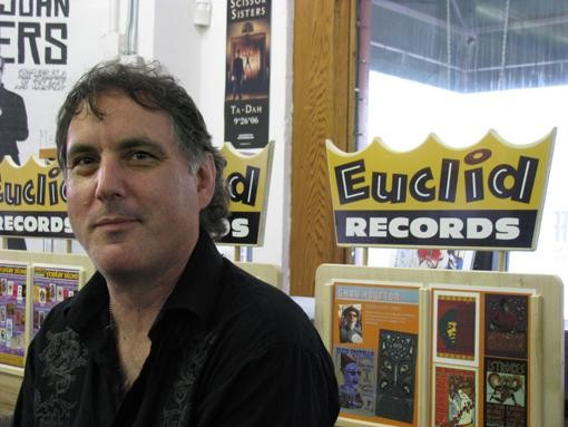 Euclid Records owner Joe Schwab