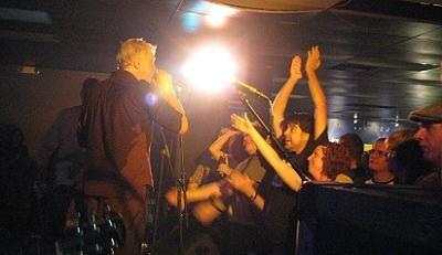 Bob Pollard at the Firebird, October 2008 - ANNIE ZALESKI
