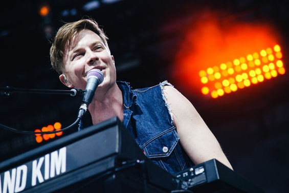 Matt Johnson of Matt and Kim. See more photos here. - BRYAN SUTTER