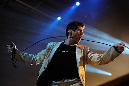 AFI last night at the Pageant. See more photos from last night's show. - PHOTO: TODD OWYOUNG
