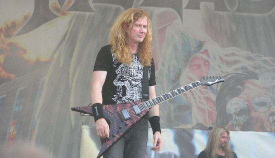 Spin Magazine recently elaborated on Megadeth rocker Dave Mustaine's love for his mini-horse. - WIKIMEDIA COMMONS