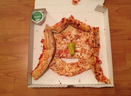If you get an extra pizza, make it into a Taylor Swift face! - JAMIE LEES