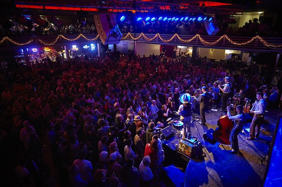 The Casa Loma Ballroom meets its capacity again as Pokey Lafarge returns this weekend. - STEVE TRUESDELL FOR RFT