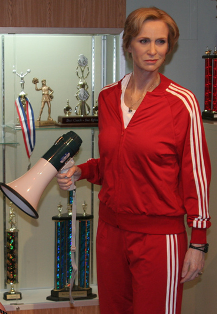 Sue Sylvester would not approve of Gotye's criticism of Glee. Or maybe she would. Who knows? - WIKIMEDIA COMMONS