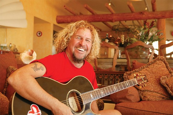 Sammy Hagar - Saturday, July 19 @ Verizon Wireless Amphitheater. - PRESS PHOTO