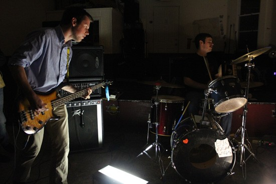 John Birkner on drums and Andy Peterson on bass provide a hard hitting, punchy rhythm section. - MABEL SUEN