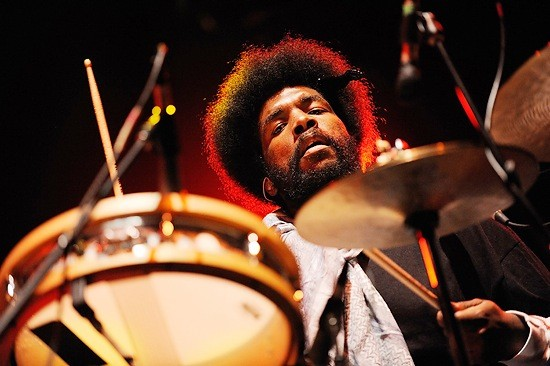 A PHOTOGRAPH OF QUESTLOVE BY THE WINNER.