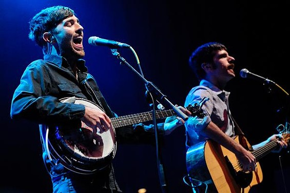 Check out more photos of The Avett Brothers at the Pageant. - JASON STOFF