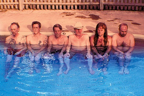 SWANS: MOST DISTURBING POOL PARTY EVER.