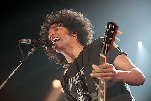 New Alice in Chains singer William DuVall. See a full slideshow from last night's concert here. - PHOTO: TODD OWYOUNG