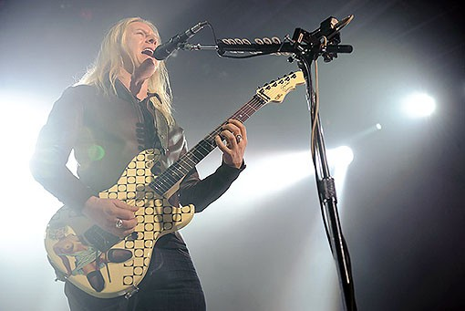 Jerry Cantrell of Alice in Chains last night at the Pageant. See a full slideshow from last night here. - PHOTO: TODD OWYOUNG
