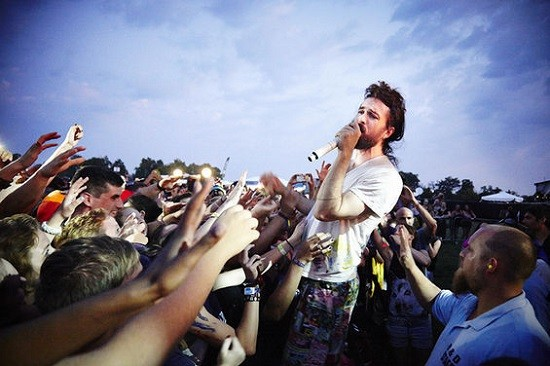 Edward Sharpe & the Magnetic Zeros at this year's LouFest - STEVE TRUESDELL