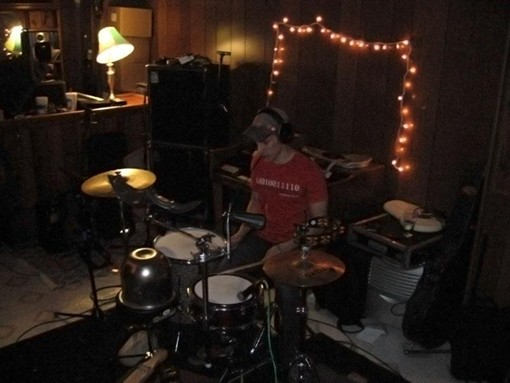 DRUMMER STEPHEN TOMKO, COURTESY OF GENTLEMAN AUCTION HOUSE