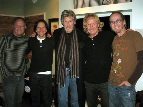 Roger Waters with the band Venice. Kipp Lennon is second from the left - KEN MURPHY/VENICE CENTRAL